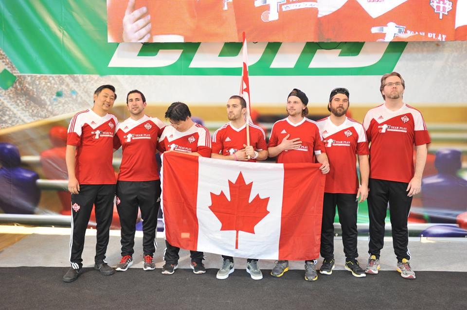 Team Canada 2015 Babyfoot Au Qu 233 Bec